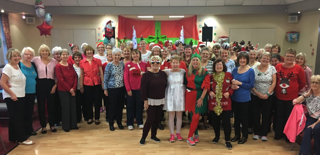Zumba Gold Christmas Party 2016